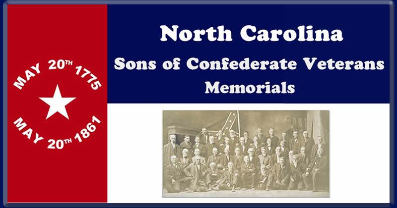 N.C. SCV Memorials